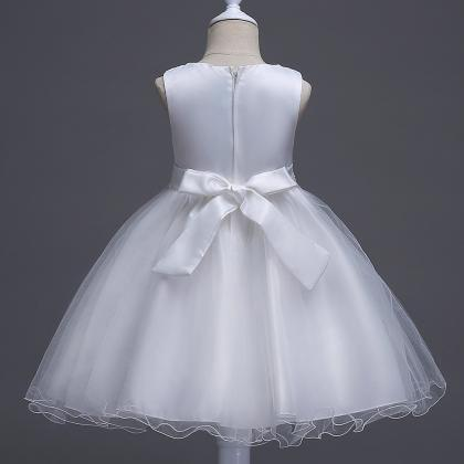 New Summer Princess Tutu Dress Wedd..