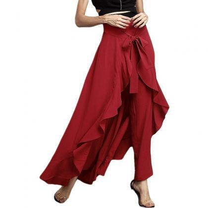 Women Wrap Skirts New Casual Fashio..