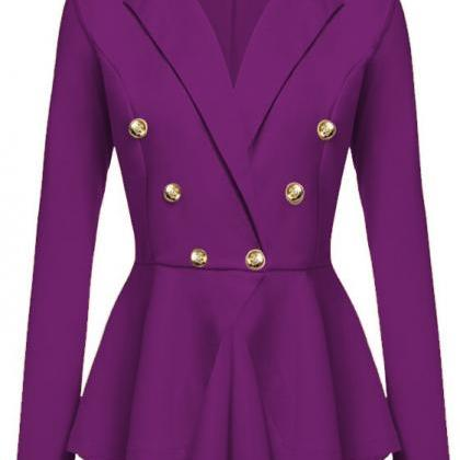 Women Slim Suit Coat Spring Autumn ..