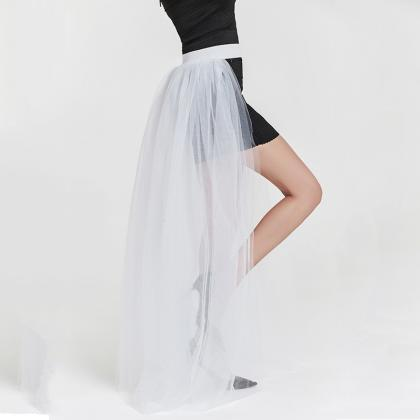Women Maxi Skirt Floor Length Adult..