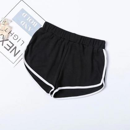 Women Summer Shorts Elastic Waist S..