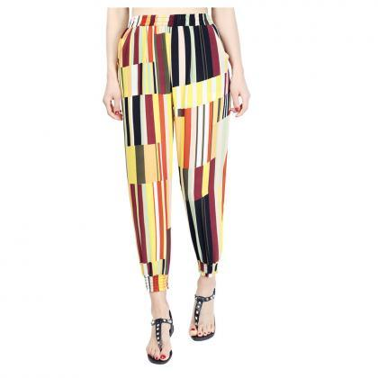 Women Harem Pants Summer Beach Chif..