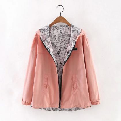 Women Bomber Basic Jacket Spring Fa..