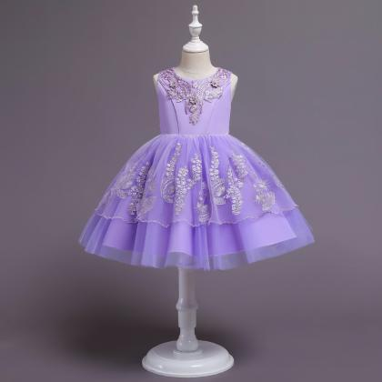 Flower Girls Dress Baby Wedding Par..