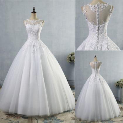 Women wedding dress plus size O nec..