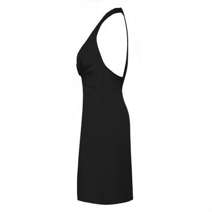 Sleeveless Backless Elegant Party O..