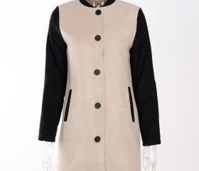 Women Lady Long Wool..