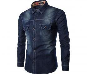 Mens Denim Shirt Cot..