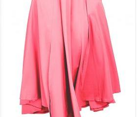 Womens Solid Long Ma..