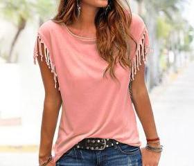 Women Tassel Casual ..