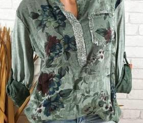 Boho Long Sleeve Flo..