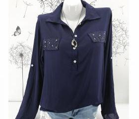 Women Blouse Long Sl..