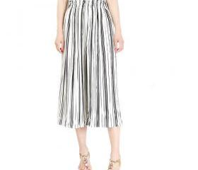 Women Striped Wide L..