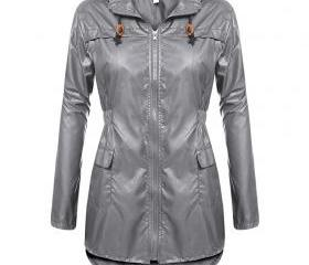 Women Raincoat Sprin..