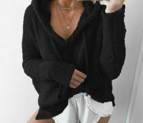 Women Fluffy Mohair..