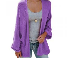 Women Knitted Cardi..