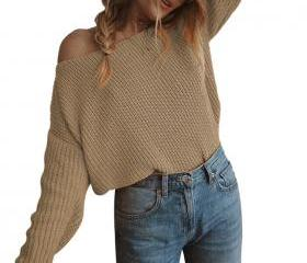Women Knitted Sweat..