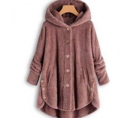 Women Fleece Coat A..