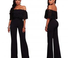 Women Jumpsuit Off t..