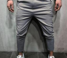 Men Harem Pants Mid ..