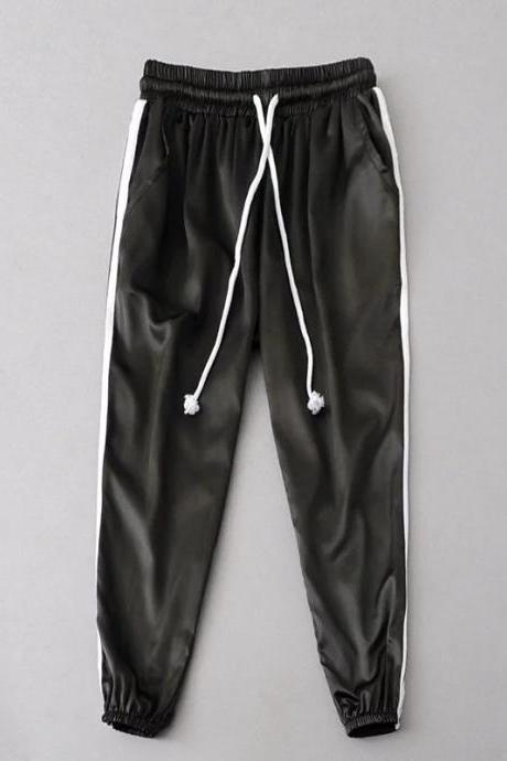 Athleisure Drawstring Jogger Pants