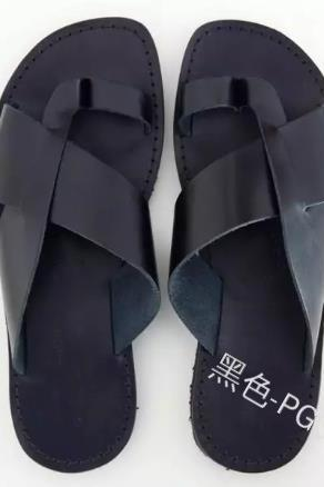 men Sandals Fashion Summer Flats Wedges Open Toe Ankle Beach Shoes Roman Slippers Sandals For men