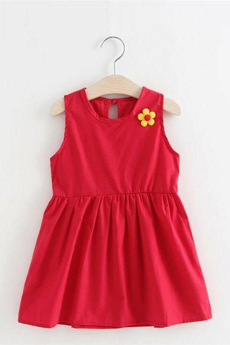 Infant Kids Baby Girls Tutu Dress Summer Casual Party Beach Princess Sundress