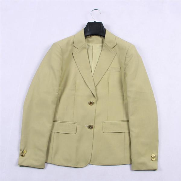 Japanese JK Women Girl School Uniform Suit Coat Students Jacket Blazer Outerwear khaki