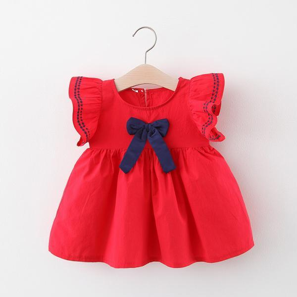 Children clothing 20 summer girl dresses children baby solid color sleeveless vest skirt infant skirt