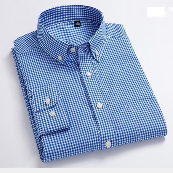 New Arrival Men Wash Wear Plaid Shirts Cotton Casual Shirts High Quality Fashion Design Shirts top