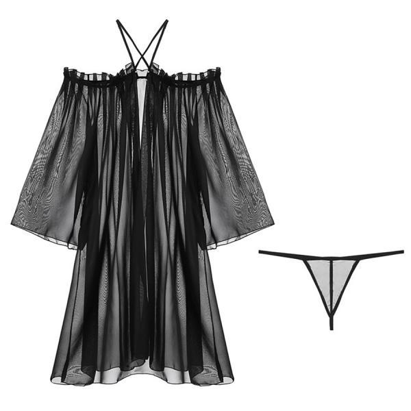 Womens Clothing Deep V-neck Dress Ladies Long Gowns Lingerie Sexy Sleepwear Nightgown Night Dress